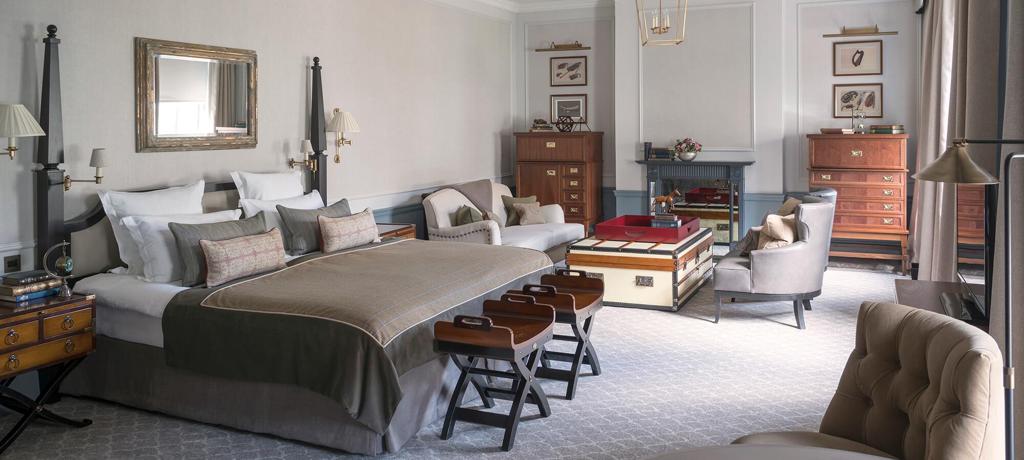 Luxury Manor Bedrooms Gleneagles