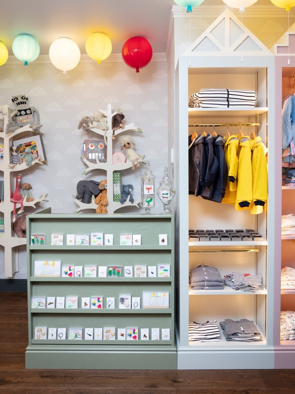 A selection o kids toys and clothes in Hop & Scotch