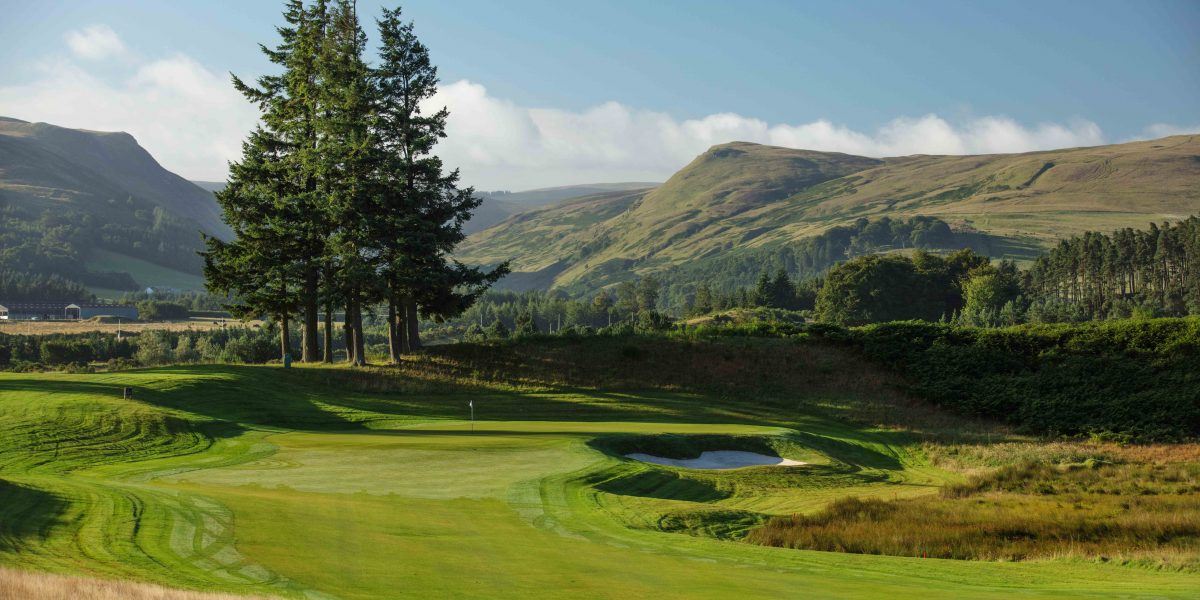 he 1st hole of the PGA Centenary course at Gleneagles