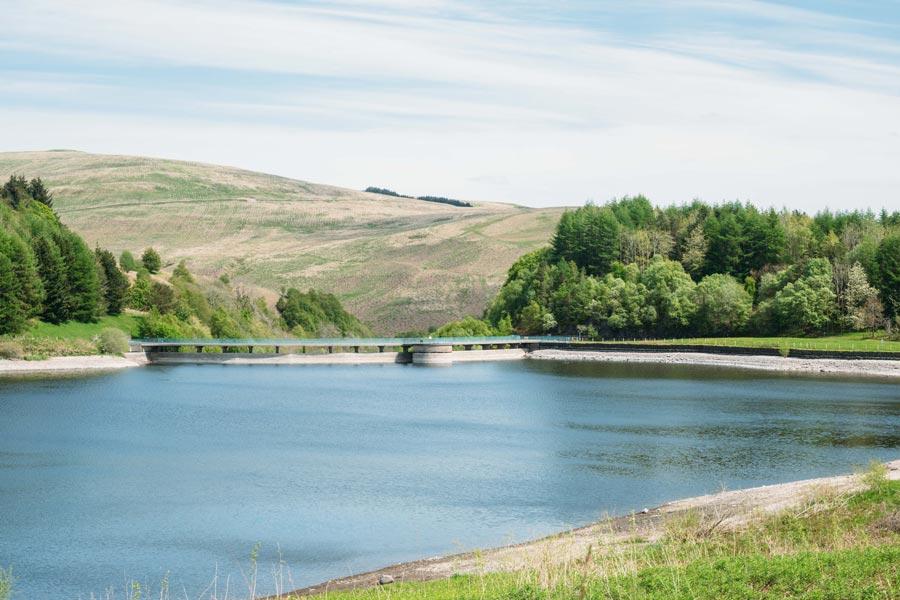 Glendevon reservoir