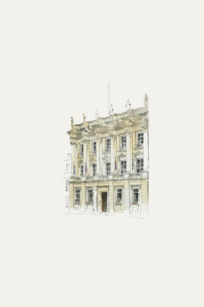 An illustration of Gleneagles Townhouse