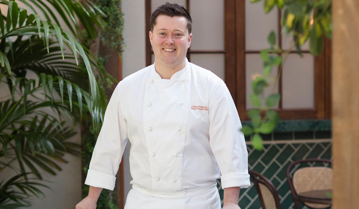 Chef Callum Roberts